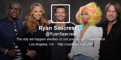 Ryan Seacrest's Twitter Header Picture