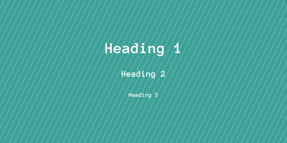 header tags