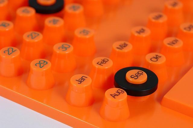 orange calender